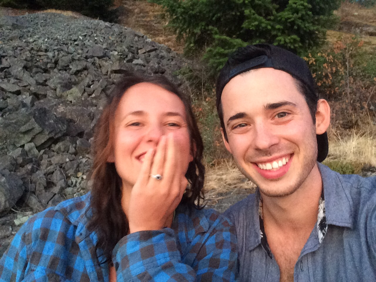 The blurriest post proposal bliss