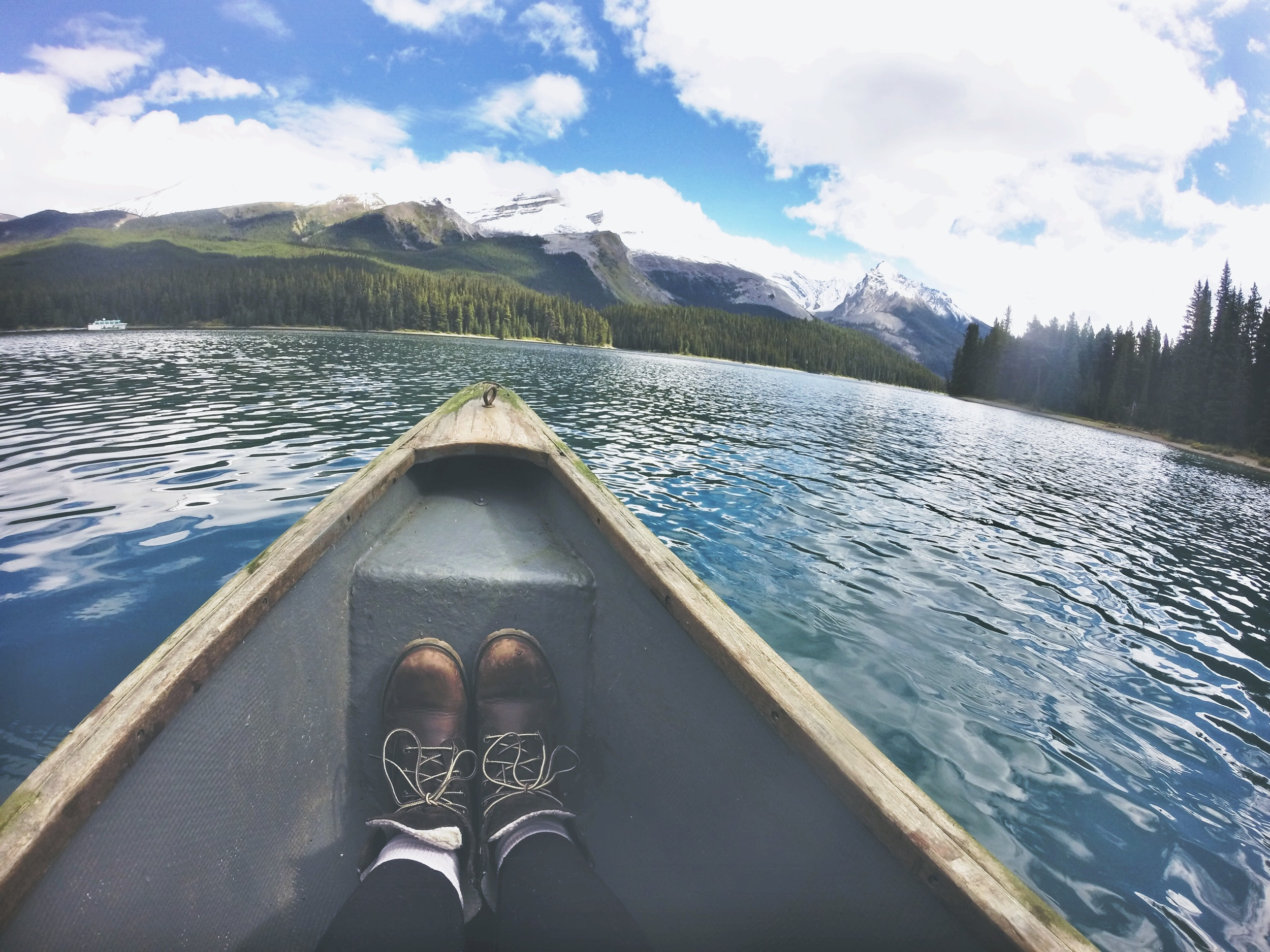 Maligne Lake, Jasper