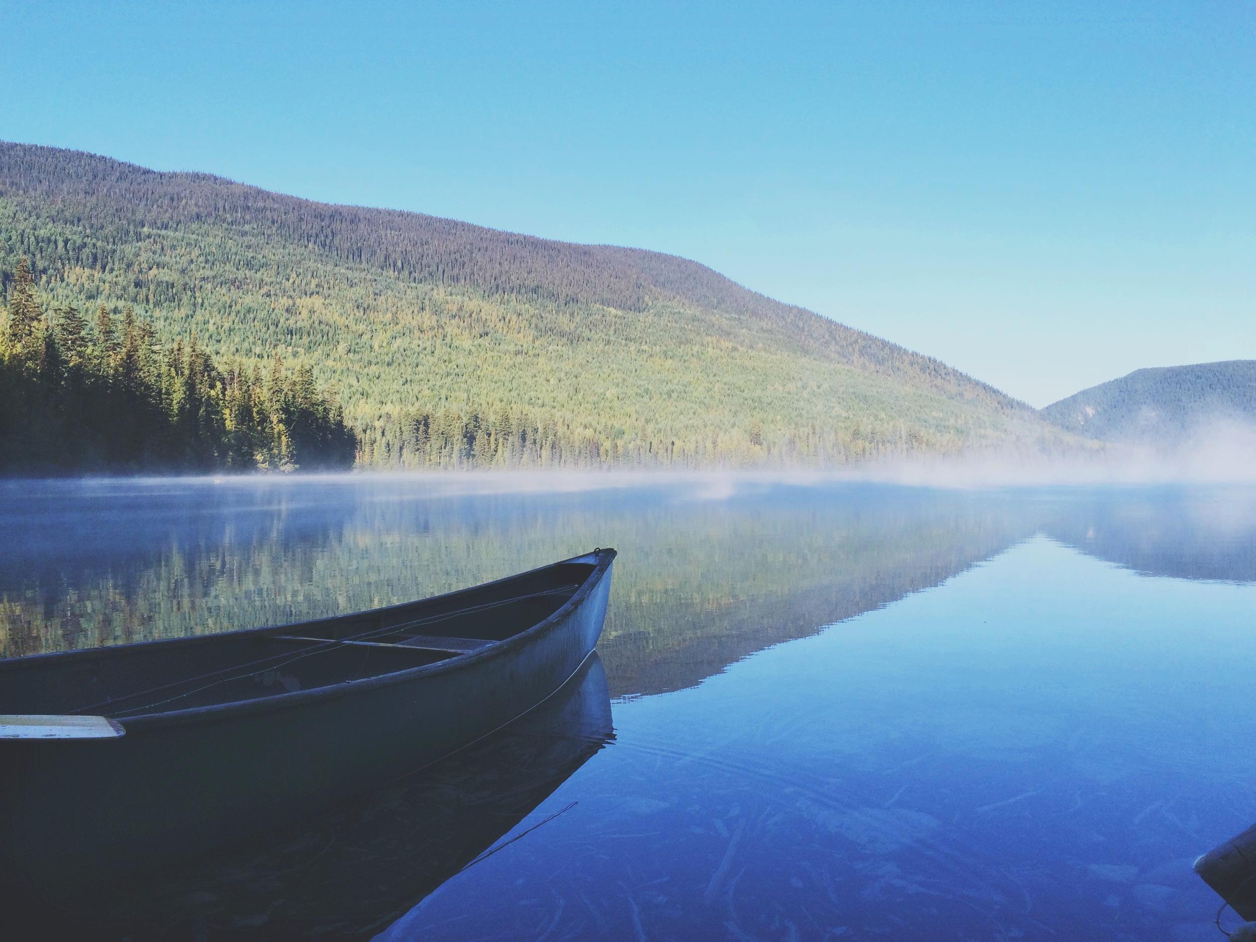 Johnson Lake early morning