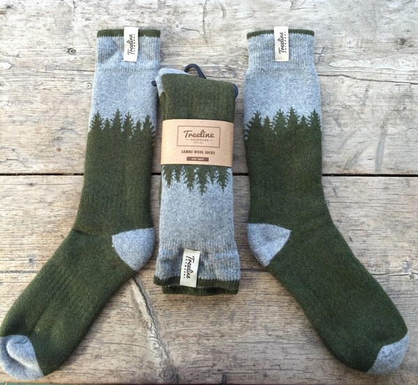 Treeline Cozy Socks