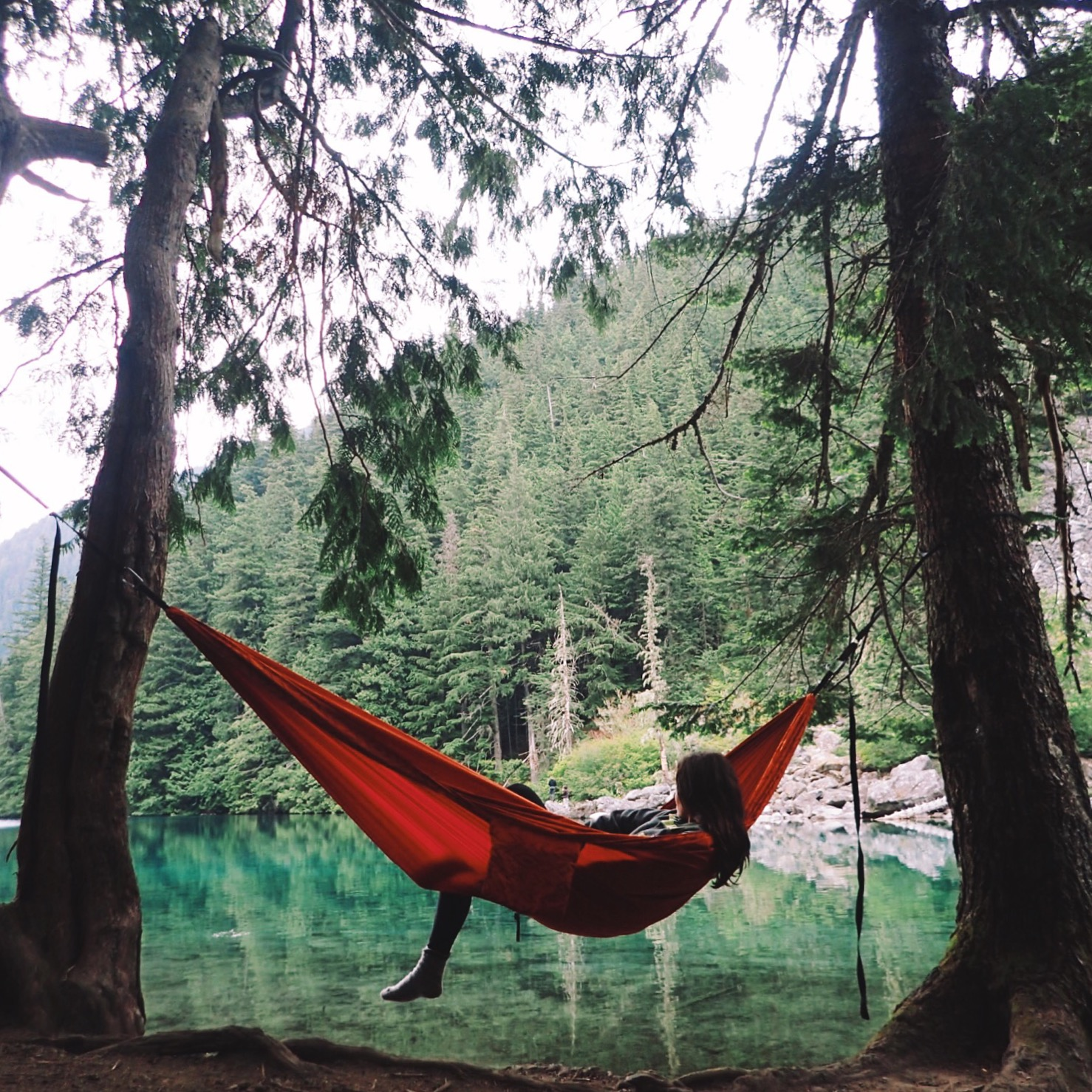 lindeman lake thermarest slacker hammock