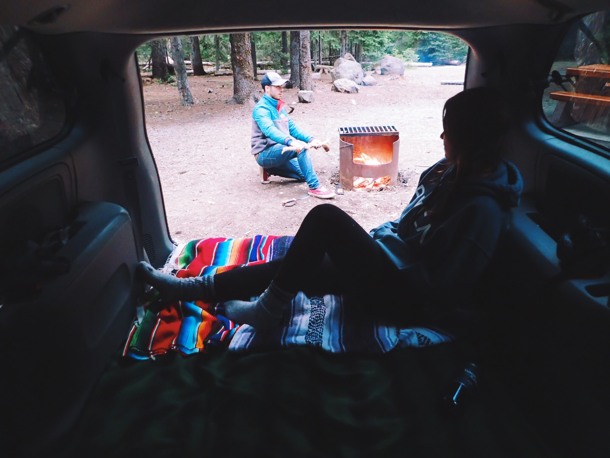 car camp manning park