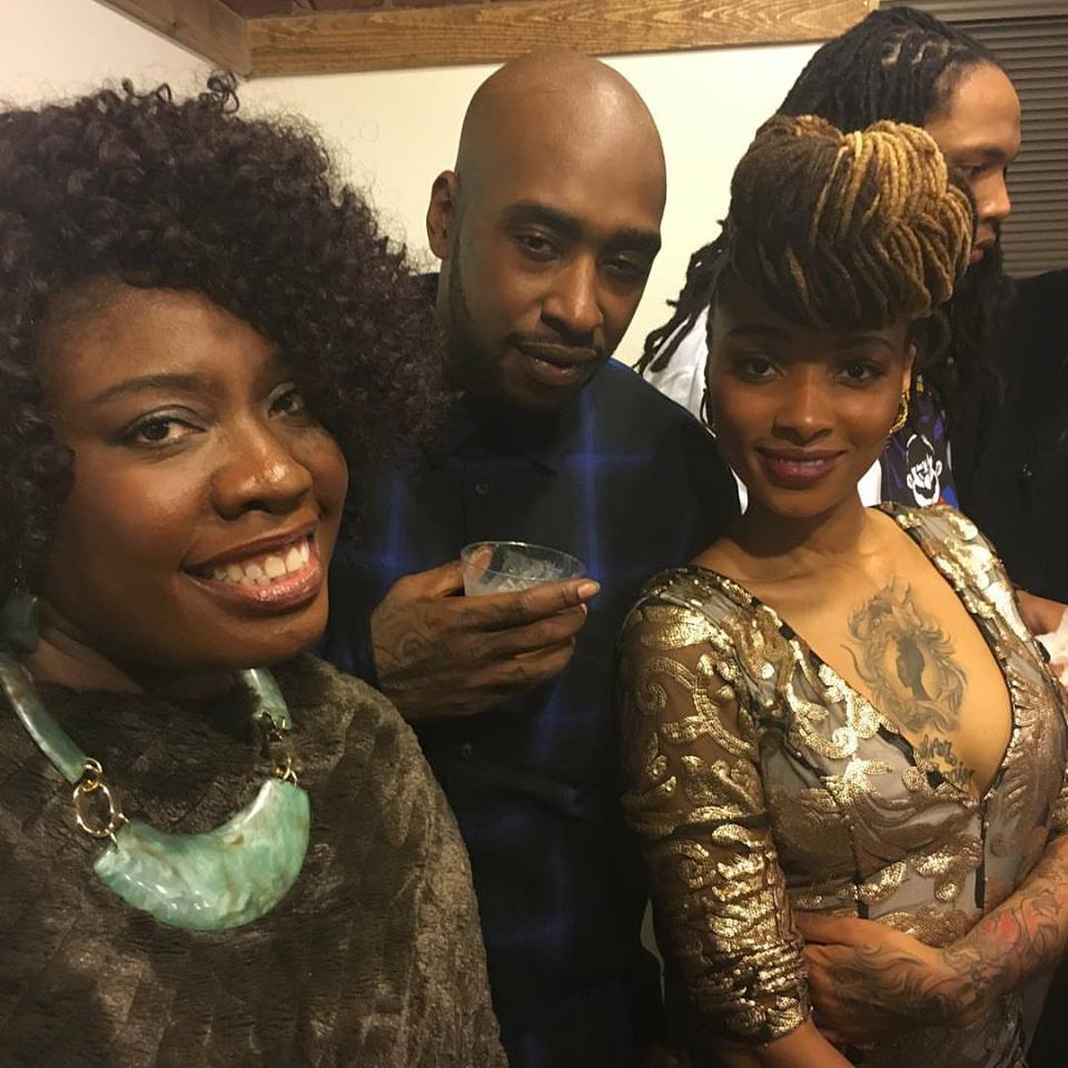 Felice at Pretty-n-Ink Grand Opening with Dutchess and Ceaser.jpg