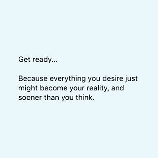 Let's go into the weekend being Expectant!  #realtalkwithfelice #expectant #desires #reality #soonerthanyouthink #blessings #inspirational #motivational #encouragement