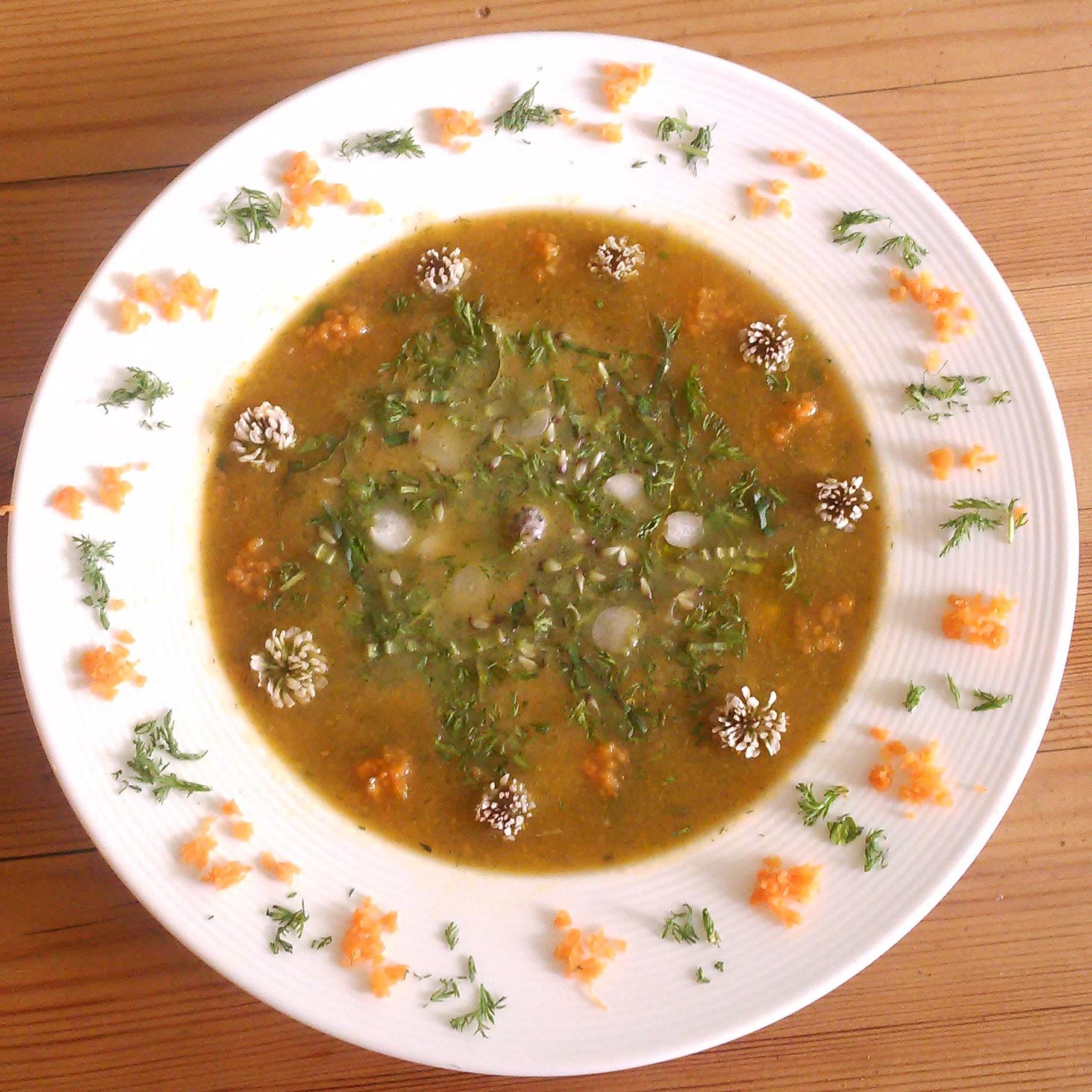 Sesongens suppe med ryllik og annet godt