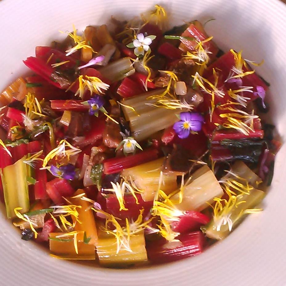 Høstfarger på tallerken