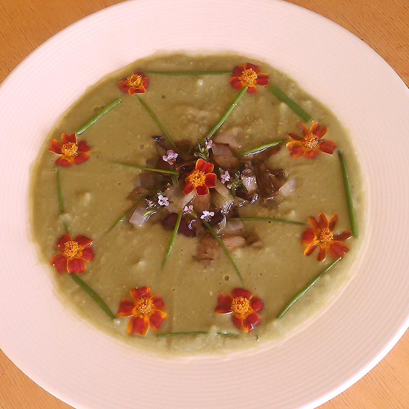 Suppe med sopp