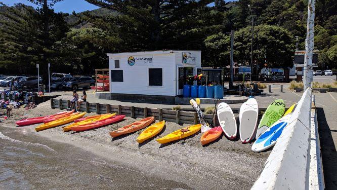The Boatshed - Days Bay, Wellington