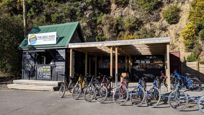 The Bike Shed - Pencarrow, Wellington