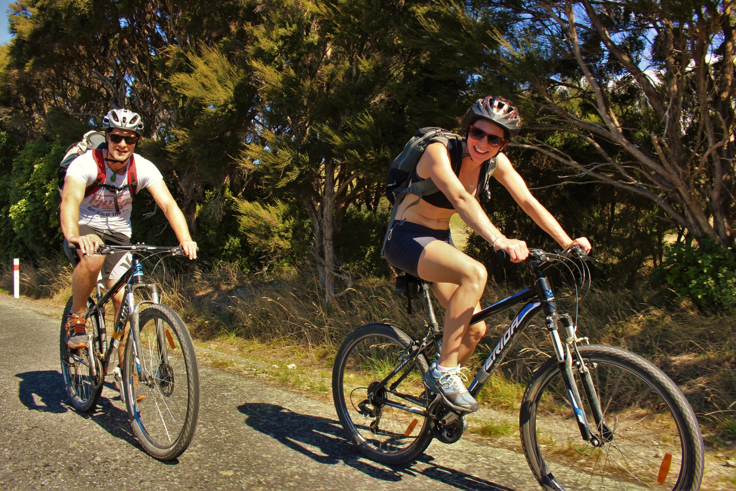 Dave & Alice Woulfe, The Remutaka Cycle Trail