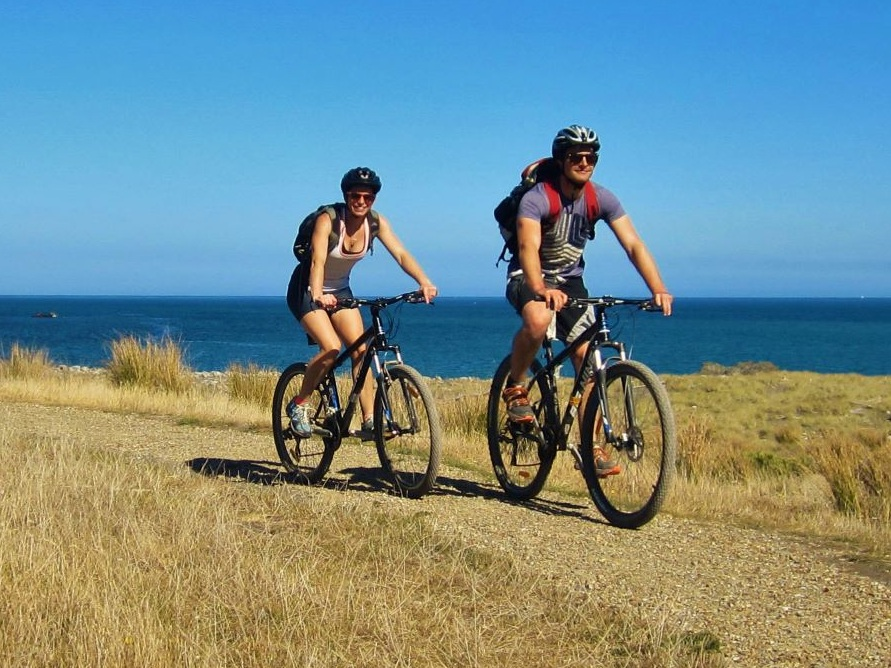 Dave & Alice Woulfe, The Wild Coast,The Remutaka Cycle Trail