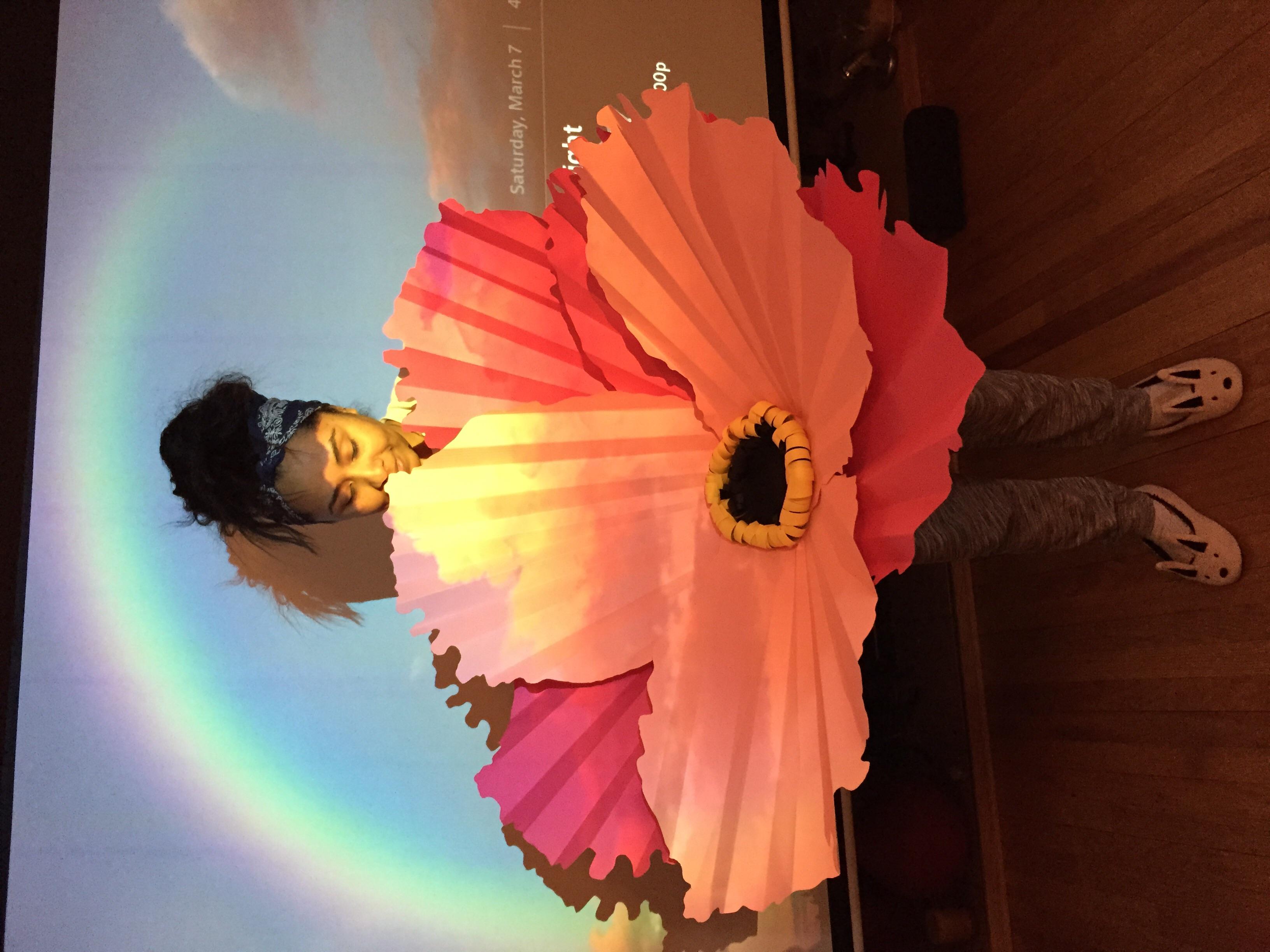 Giant flower centerpiece