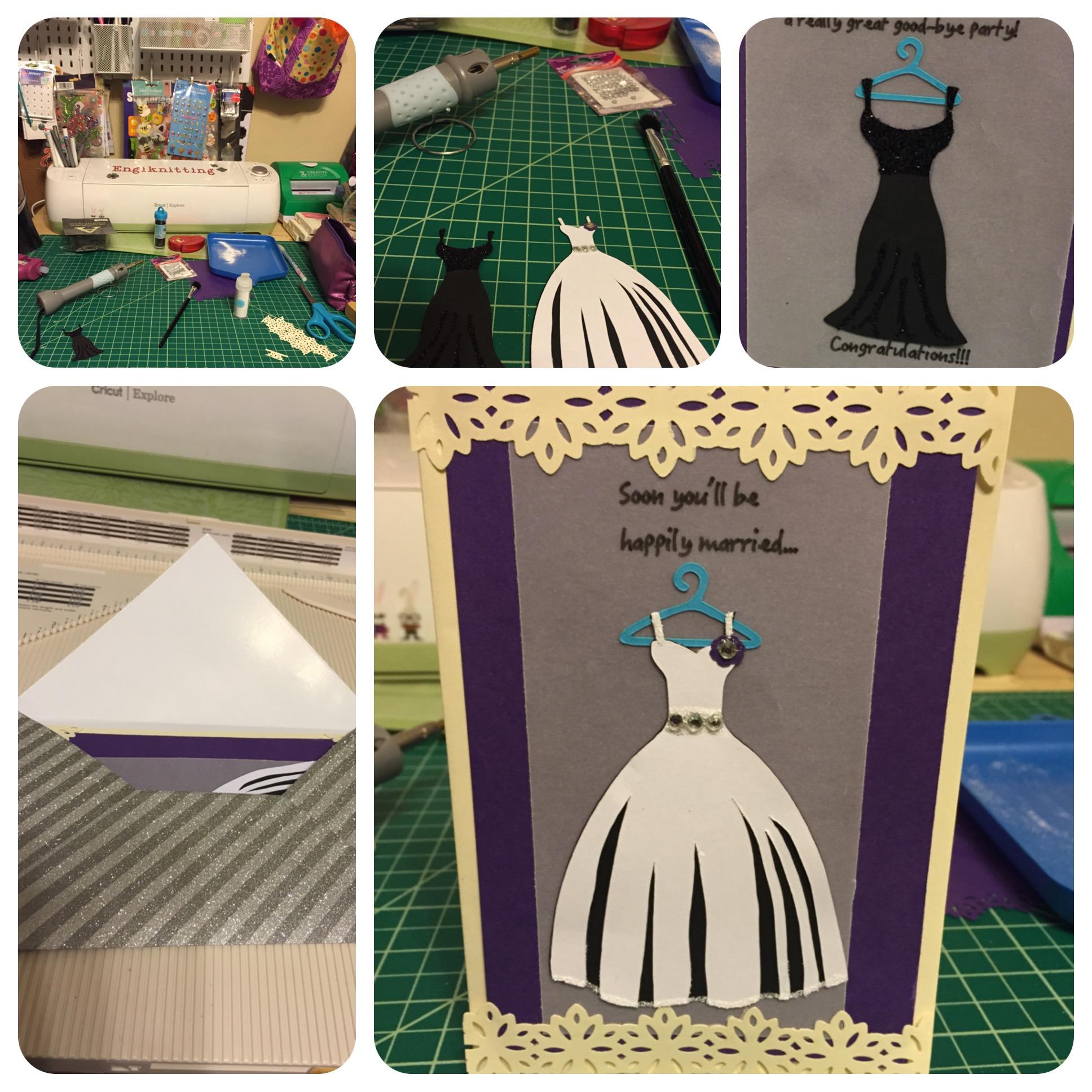 A Bridal Shower card.