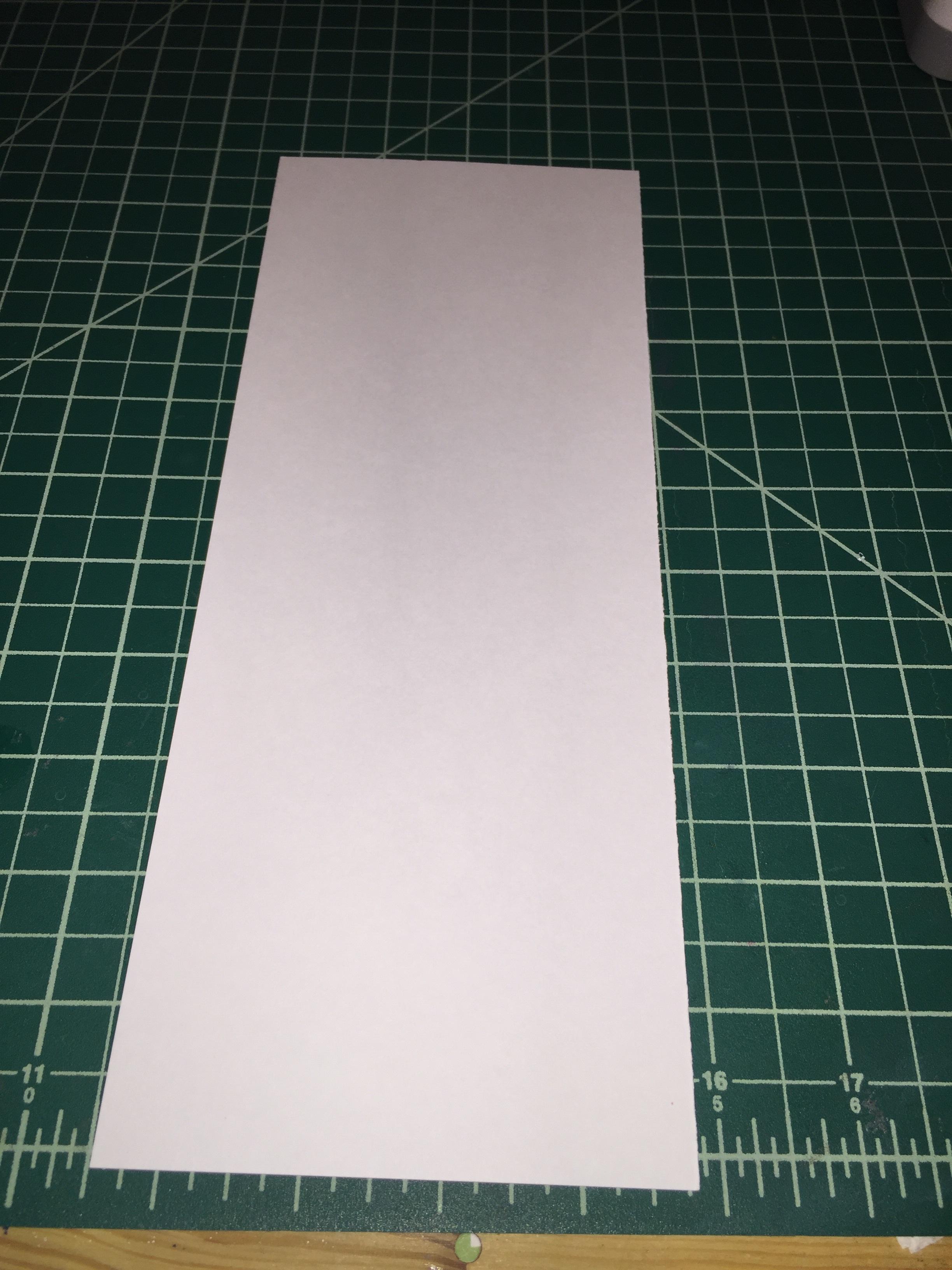 Top folding card.