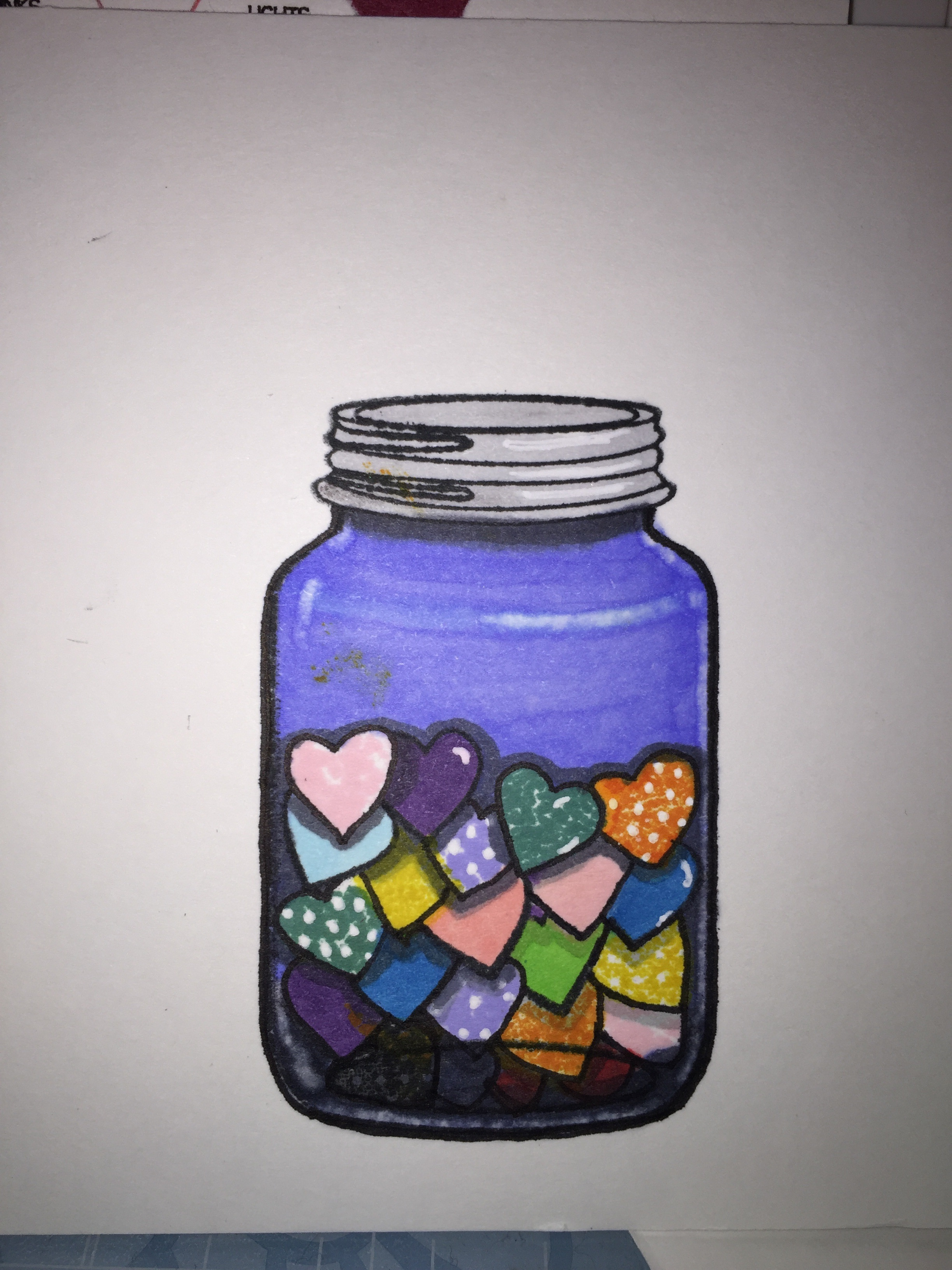 The finished jar!