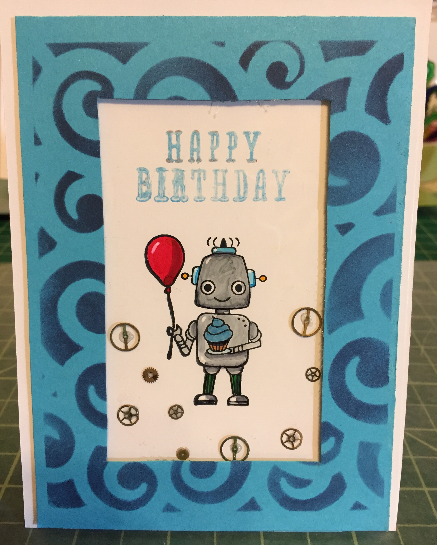 Robot birthday!