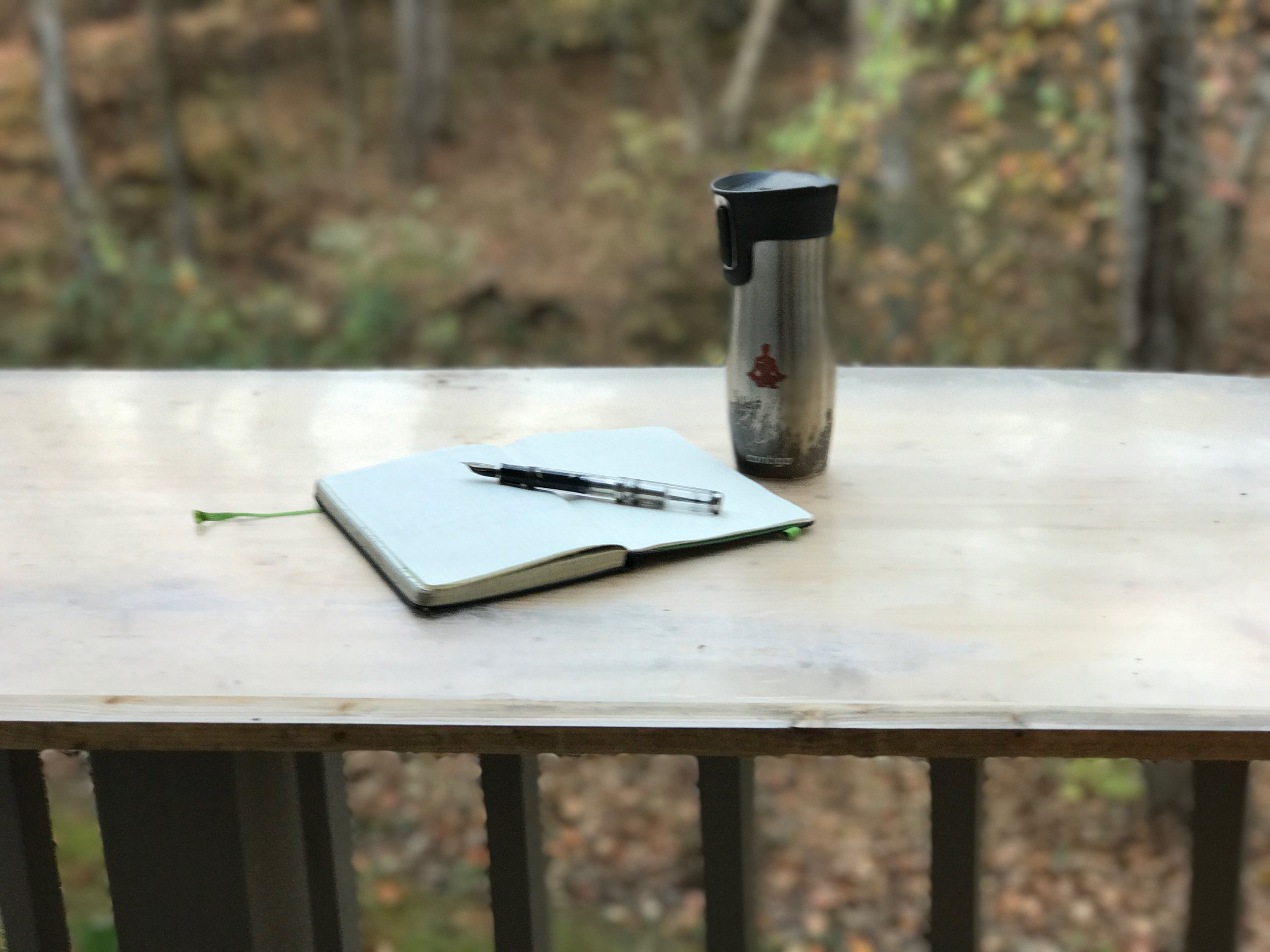 Often it is the simple things in life that foster deep feelings of gratitude. Try Kimera Koffee, a Moleskine Journal, and a fountain pen; no doubt you will fill the pages with all for which you are grateful.