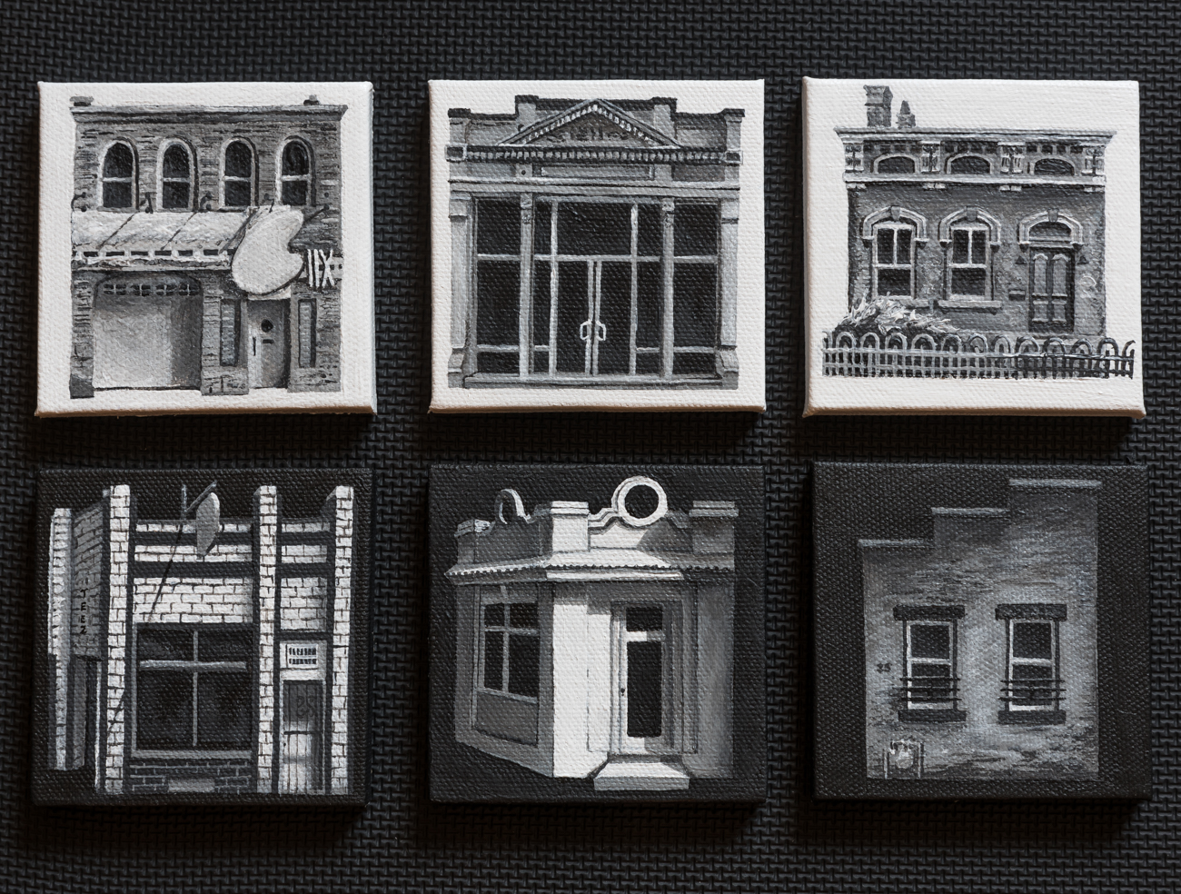 Ledge Gallery's 'Lilliputian Landscapes' Show - I was the highlighted artist for August 2016 at Over-the-Rhine's former Ledge Gallery location. CityBeat subsequently wrote about the gallery and included my show in the write up.