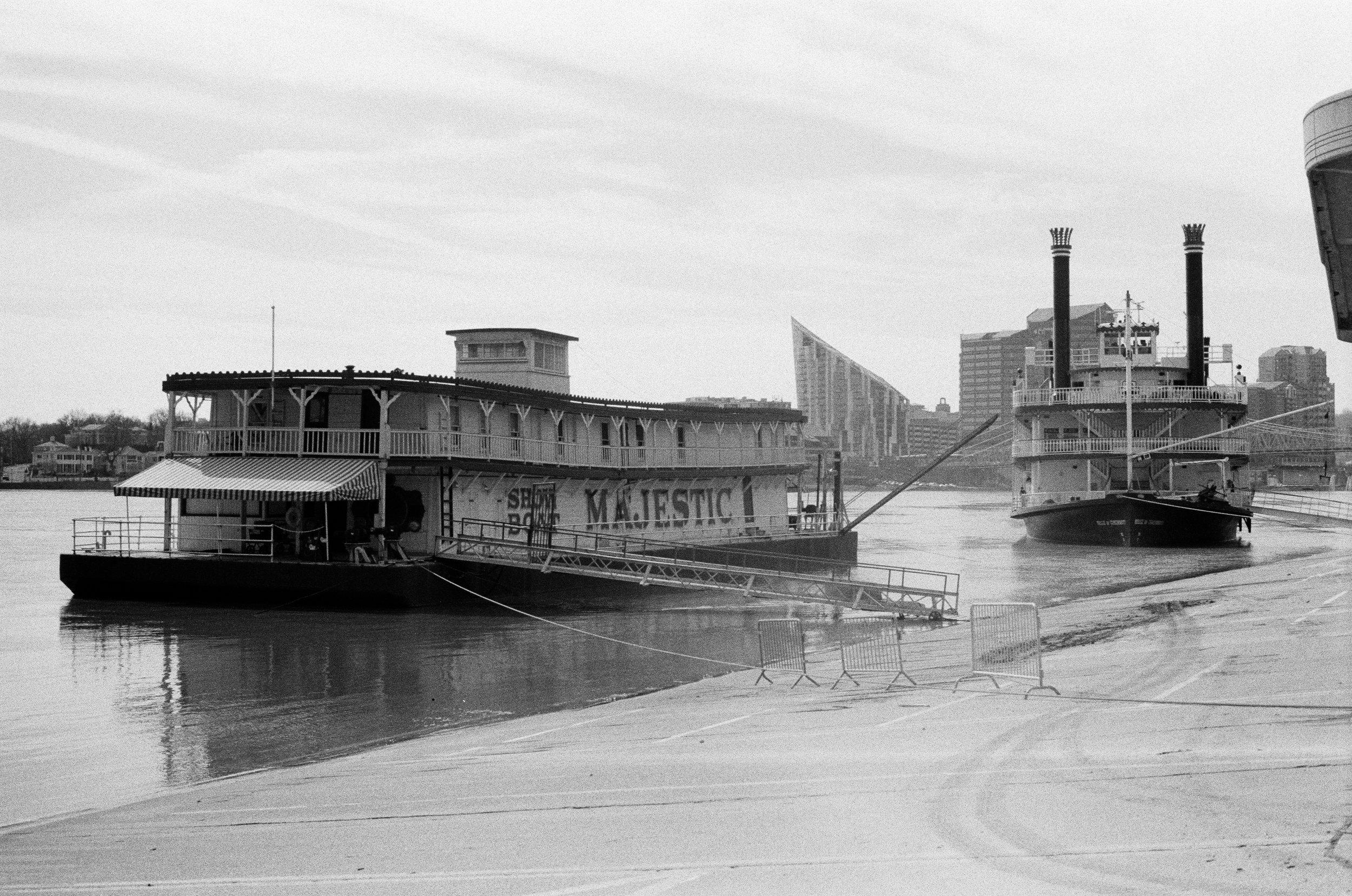 Showboat and Belle of Cincinnati