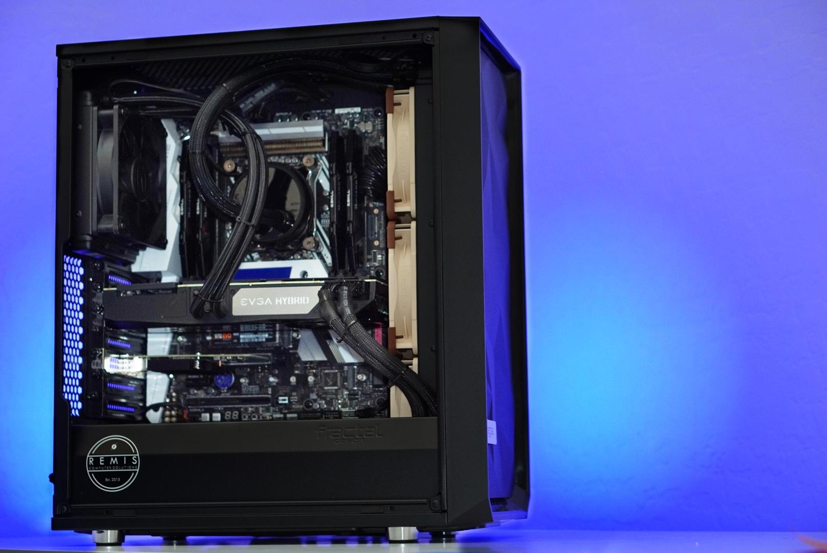 Popular Configuration - Case: Fractal Design Define C ATXCPU: Intel i9 9940x 14 core/ 28 threadMotherboard: Asus x299 Deluxe-ii ATXRAM: Corsair LPX 64GB 3200mhz (4x16GB)Video Card: Nvidia RTX 2060 SUPER 8GBCPU Cooler: Be Quiet! Dark Rock Pro 4 Air CoolerStorage: Samsung 970 PRO 1TB NVMEPower Supply: EVGA G3 850watt GoldOperating System: Windows 10 PRO 64bitPRICE: $5453 + Shipping & Tax(MANY Configurations available)