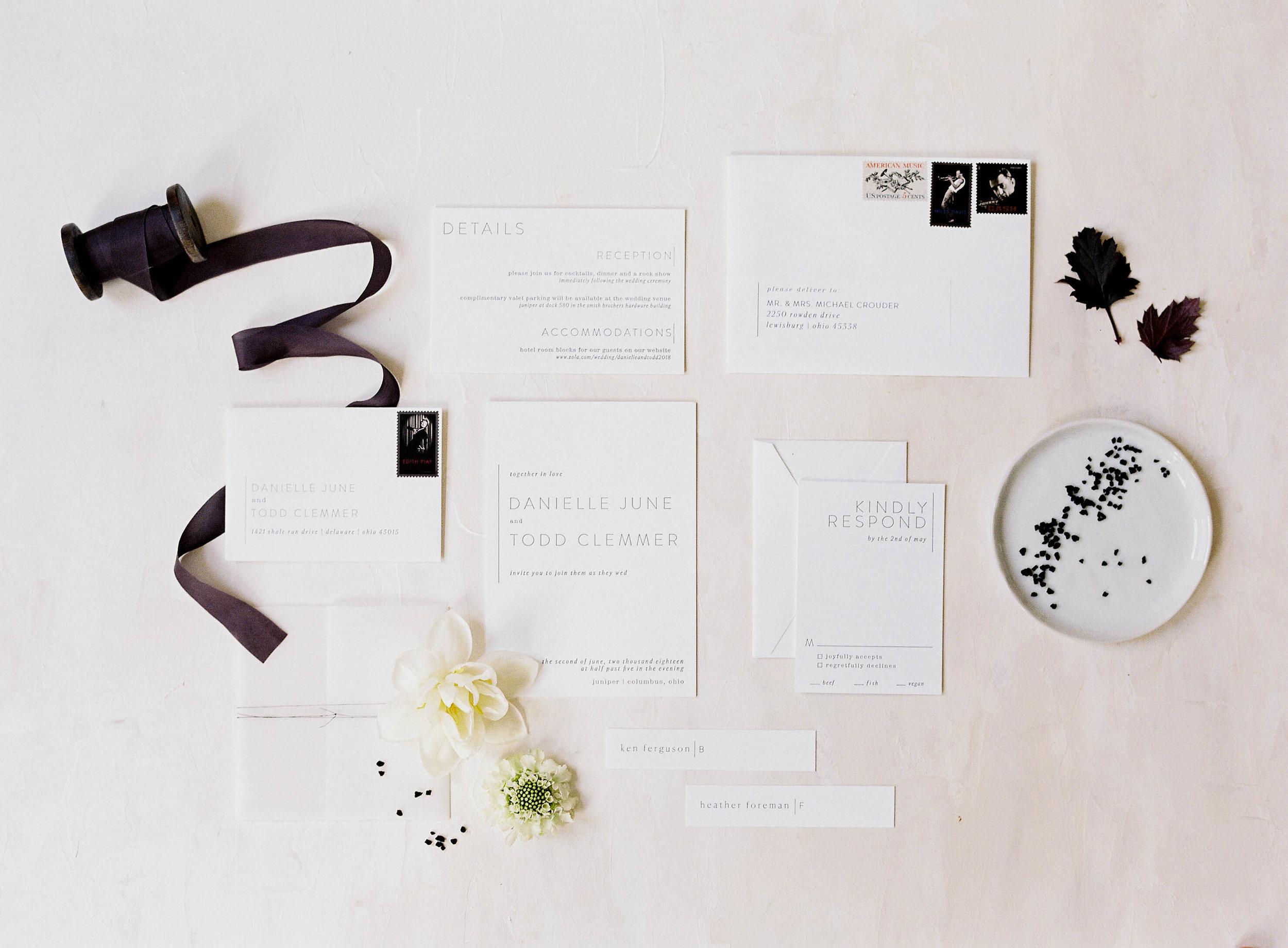 Planning + Styling:  Events Held Dear  / Photography:  Jenna Powers / Stationary:  Jenny Sanders  / Location: Zurïe Studio