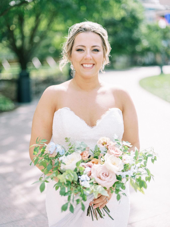 Garden Inspired Wedding Evergreen Flower Co