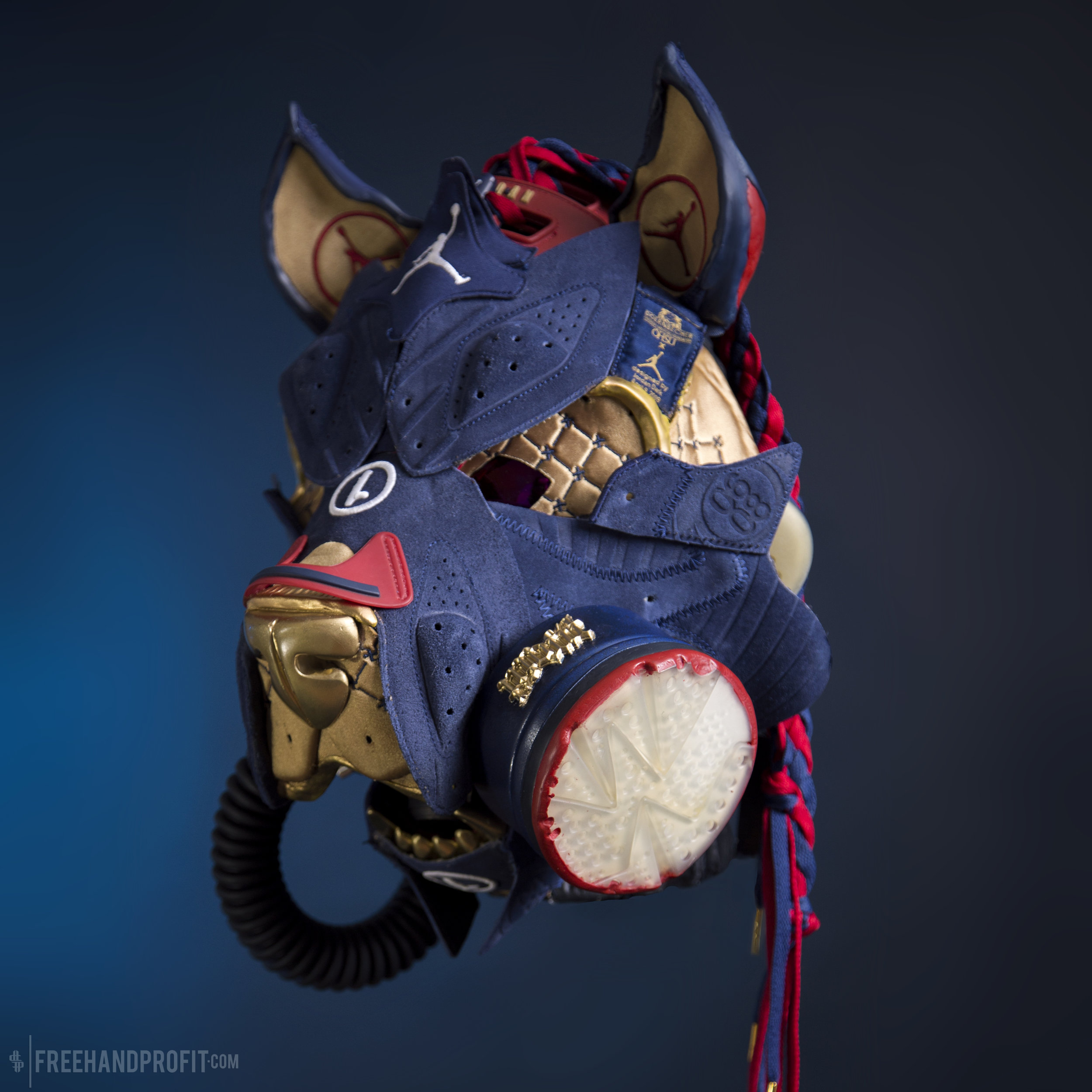 NEW SNEAKER MASK!   Click here to see more of the DB6 Pit Bull Gas Mask!