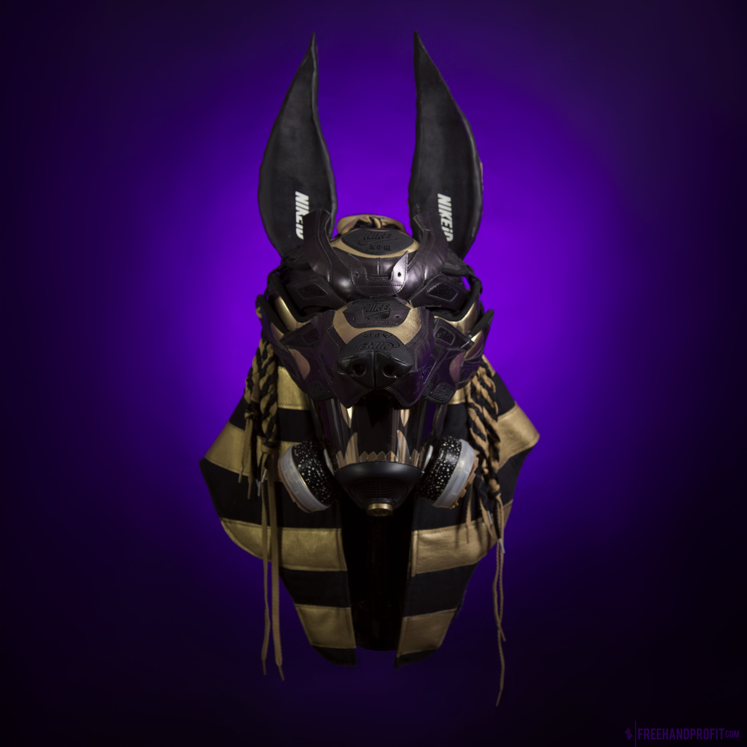 No.126: Air Max 90 Anubis Gas Mask  [UNRELEASED]