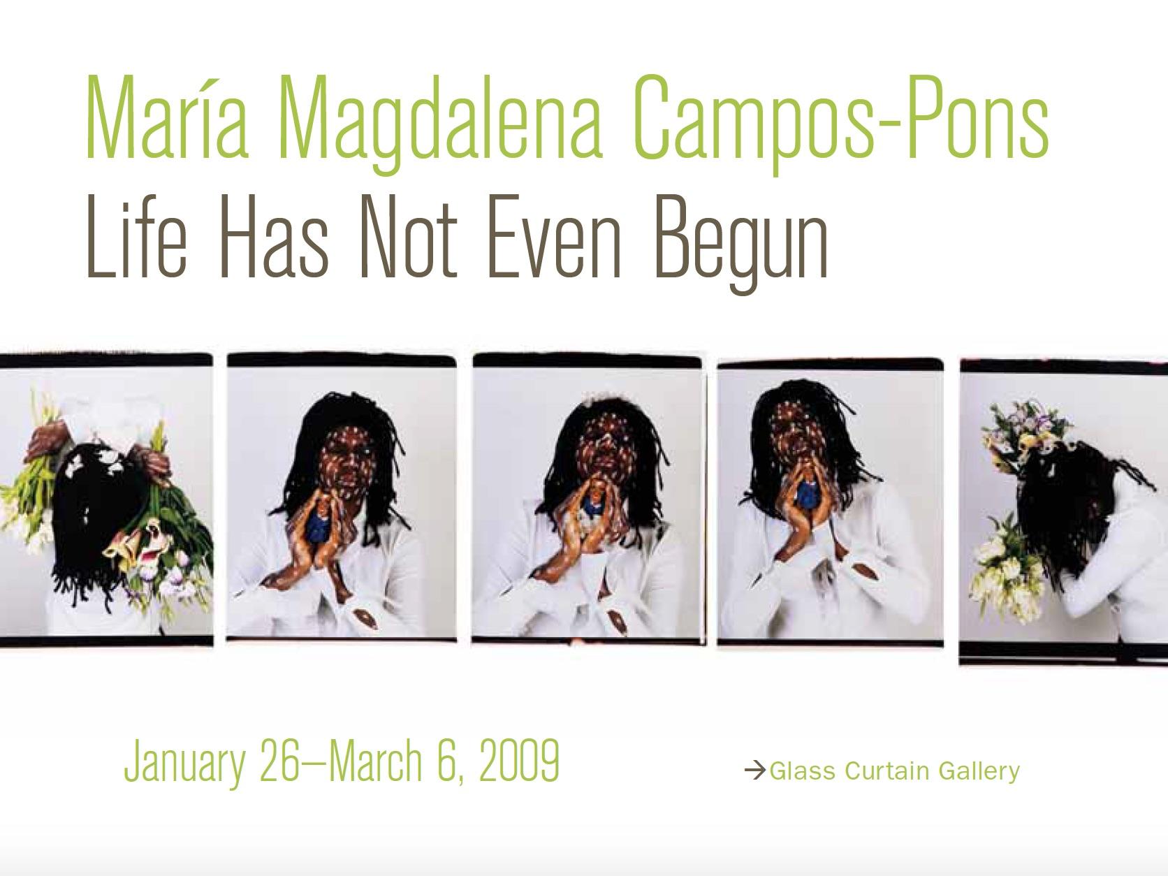 Maria Magdalena Campos-Pons: Life Has Not Even Begun