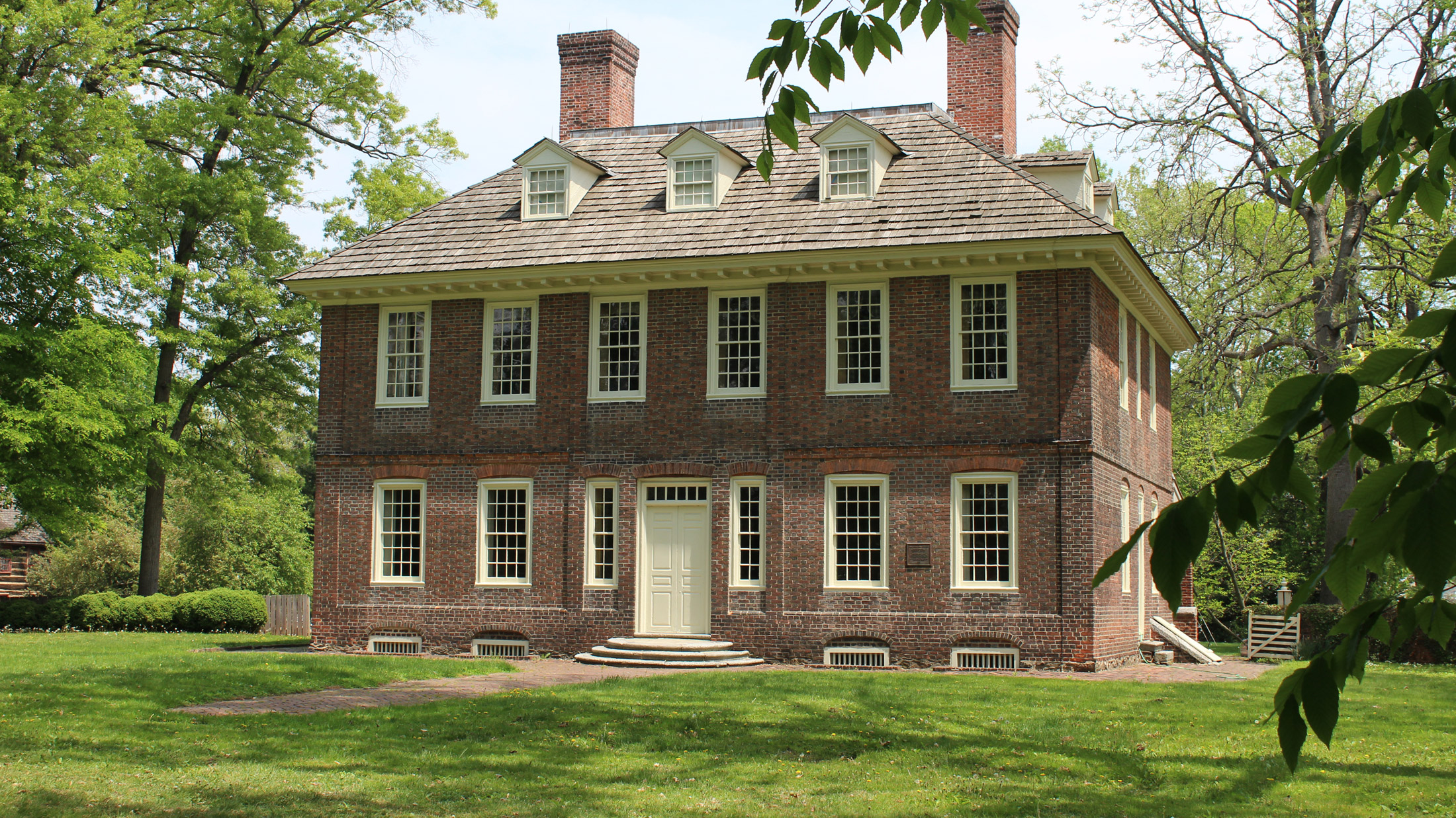 Stenton Historic Home in Germantown, Philadelphia, Pennsylvania
