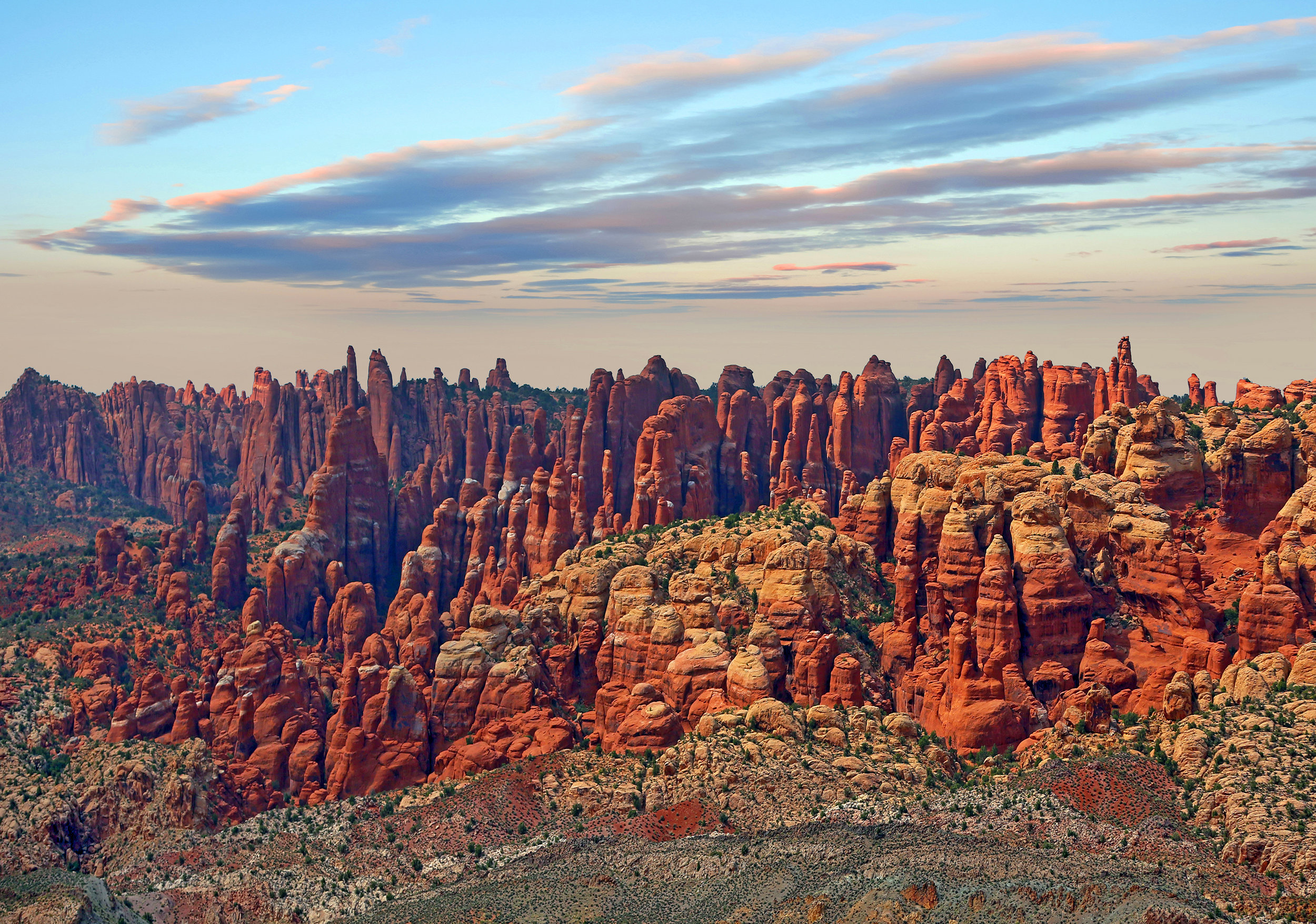 Fiery Furnace. Arches National Park.