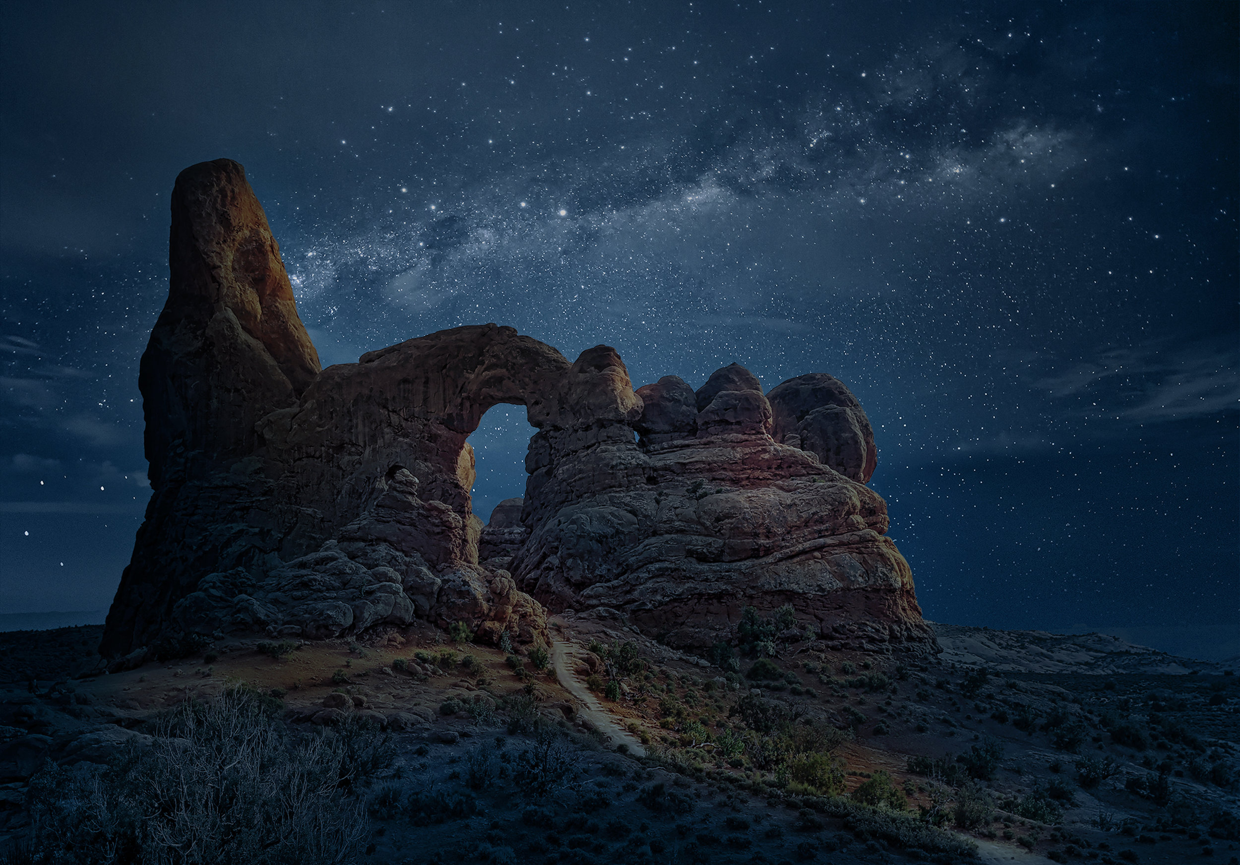 """Arches National Park While Listening To """"Us And Them"""" By Pink Floyd."""