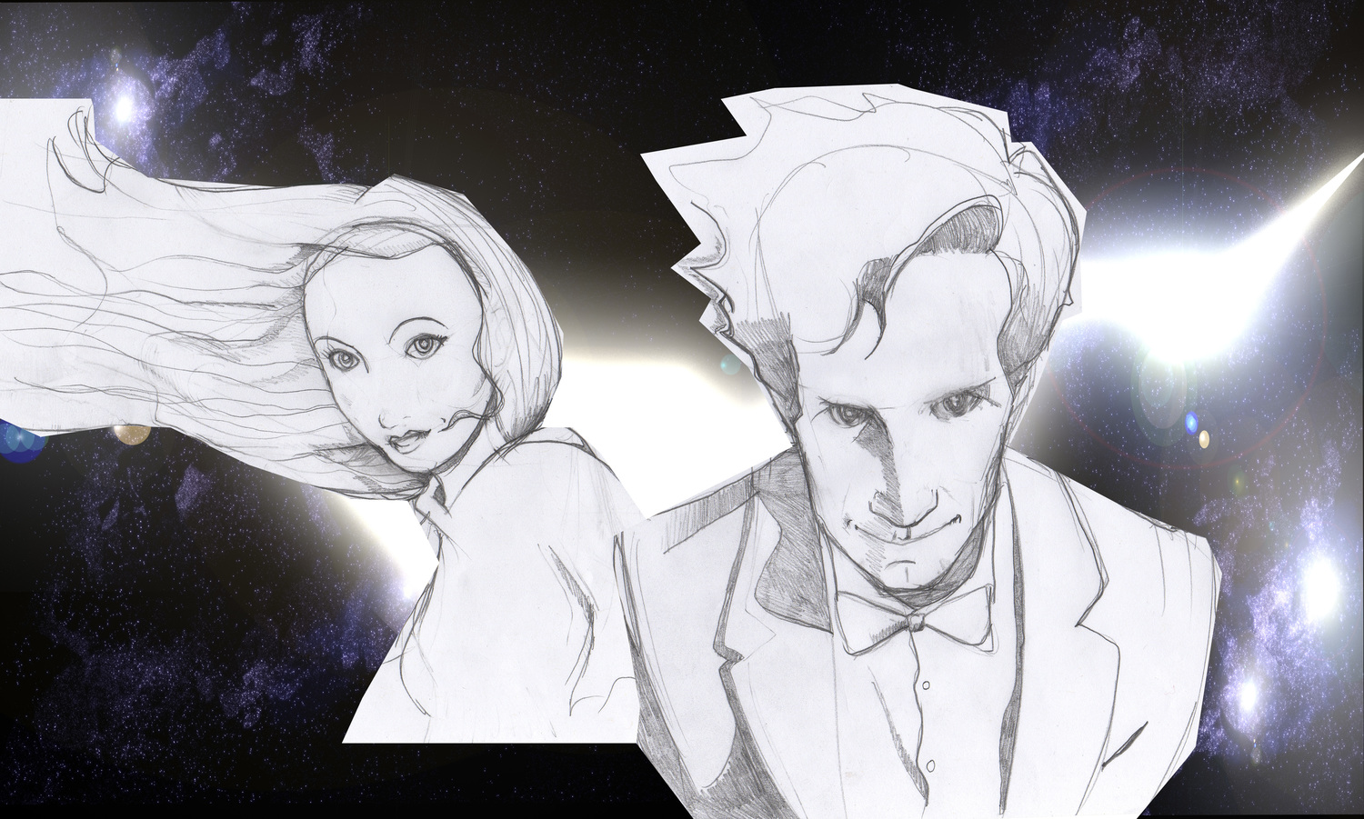 Amy Wip doctor who visualisation for the bbc — simon davies draws
