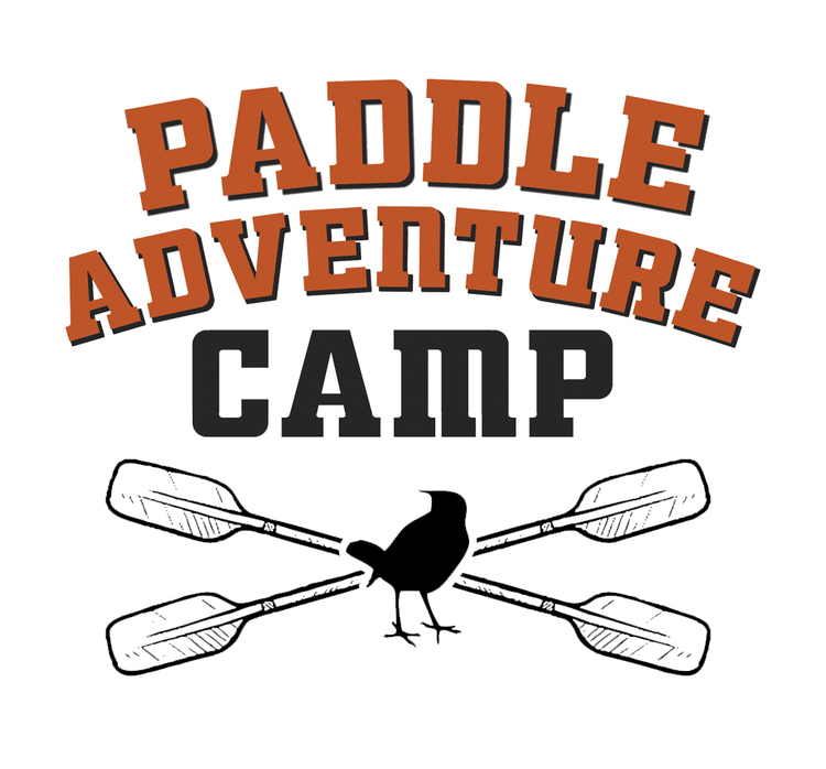 "Client: Friends of Rye Nature Center Job: A new program, ""Paddle Adventure Camp"" needed a logo and identify that spoke to the adventure of the program: something that would get pre-teens excited to attend."
