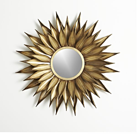 Sunflower Wall Mirror $199