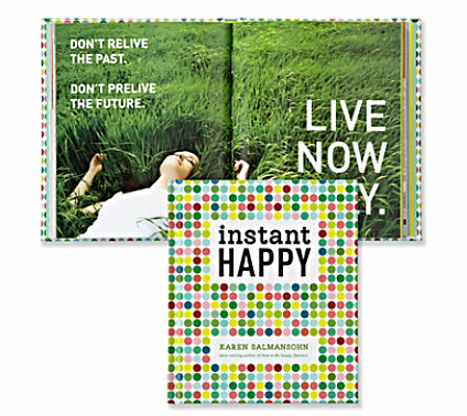 Instant Happy Book $12.98, Z Gallerie