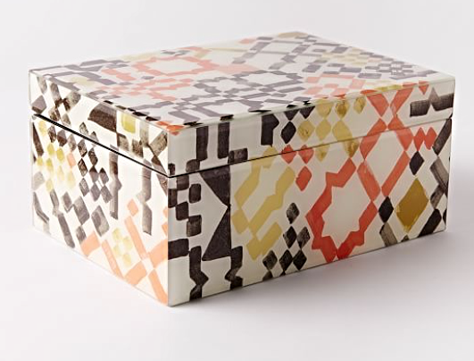 Mosaic Jewelry Box $49