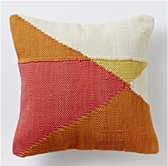 Chindi ColorBlock Pillow Cover $54