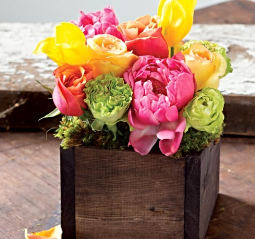 Olivia Citrine Fresh Floral,  $85