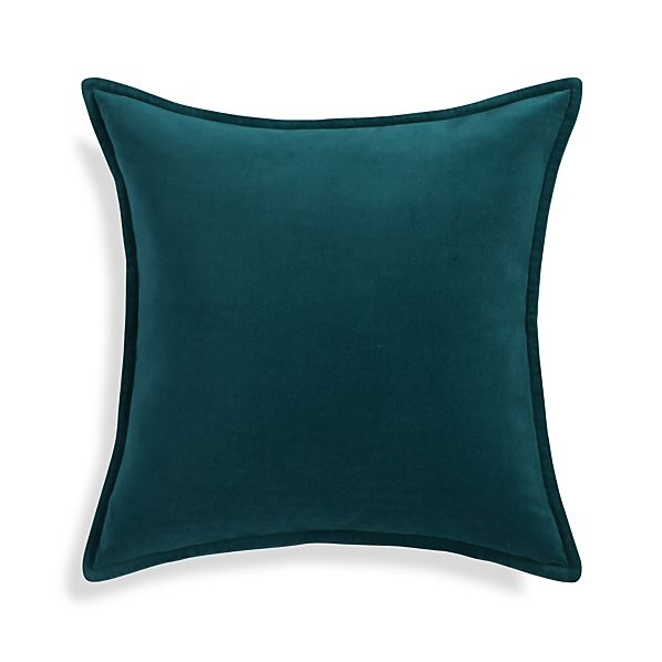 Brenner Teal Blue Pillow $44.95