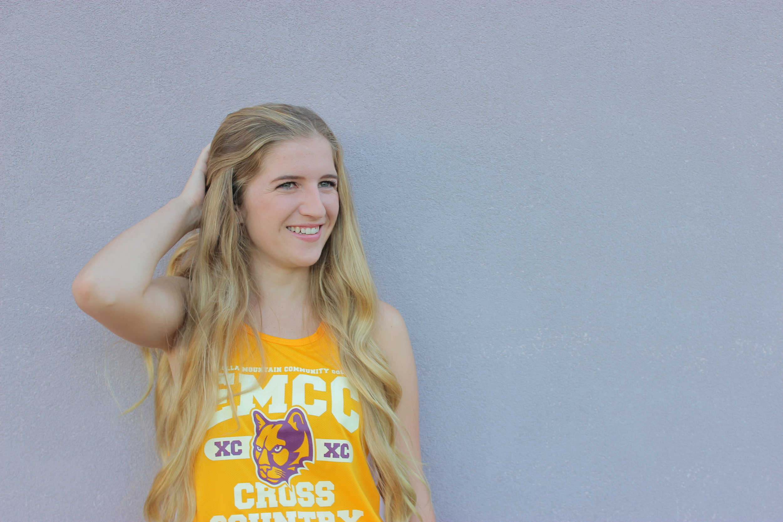 Makenzie is just the cutest, we had fun messing around when I took pictures of the EMCC cross country team( I assistant coached last Fall)