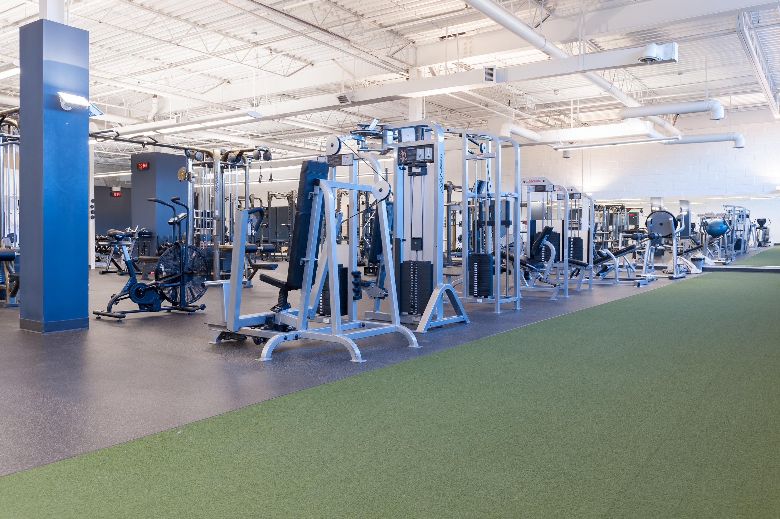 Leslie + York Mills | Gym Floor