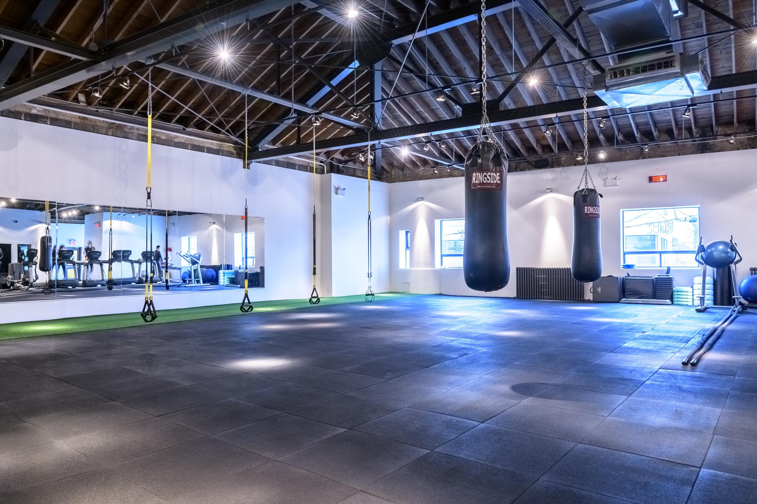 Eglinton + Avenue | TRX and Boxing Zone