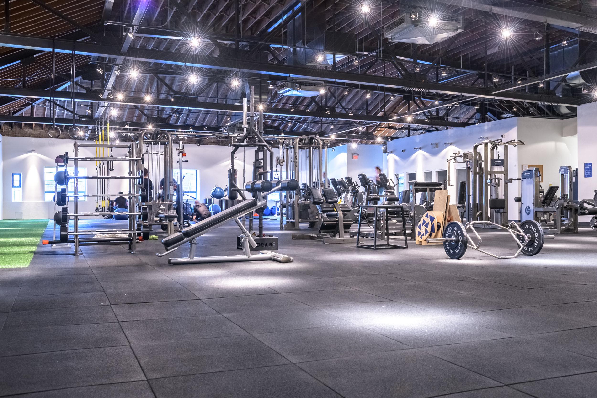 Eglinton + Avenue | Gym Floor