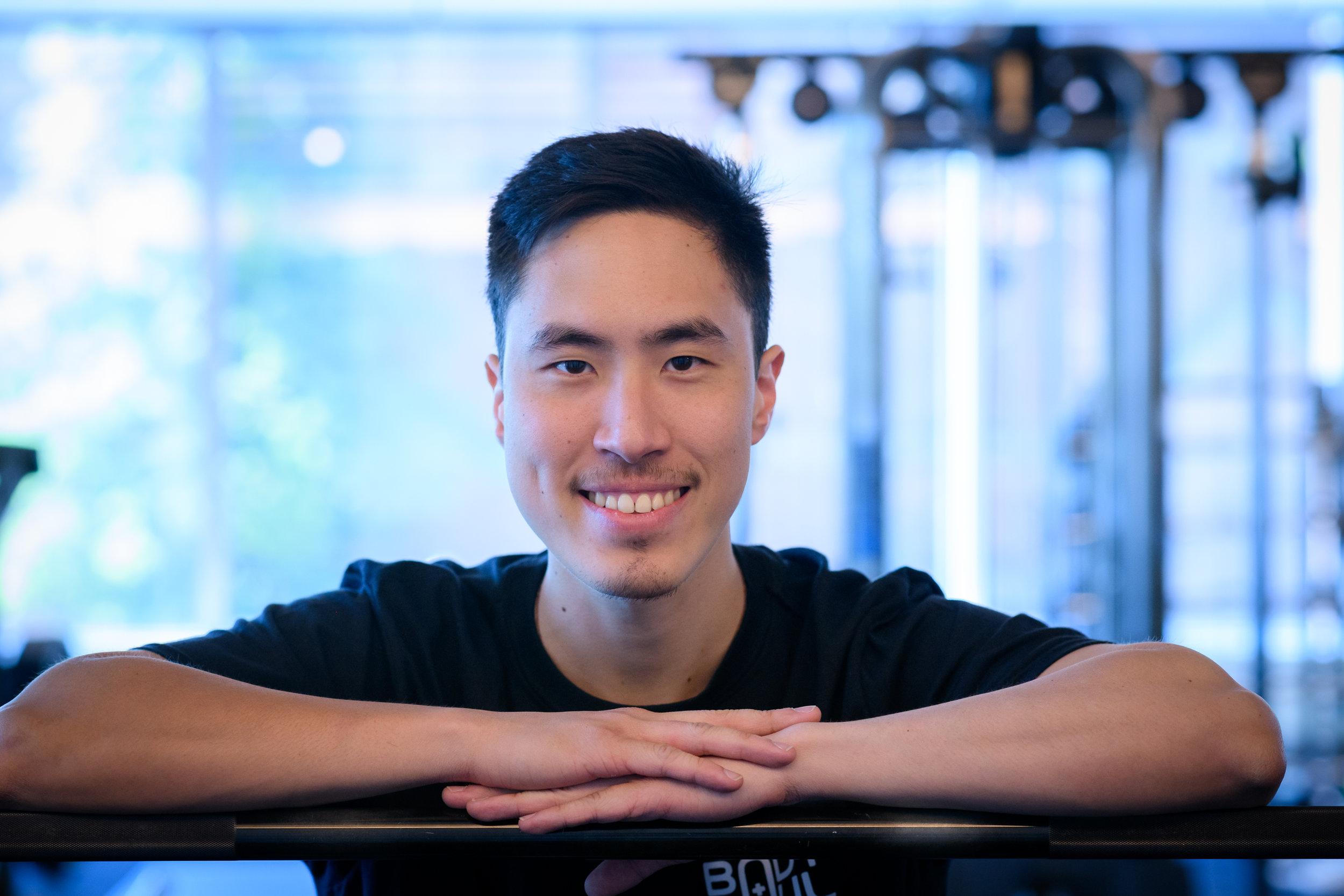 Jason Kong, Personal Trainer