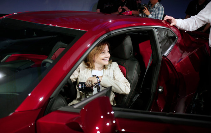 GM CEO & Chairwoman Mary Barra