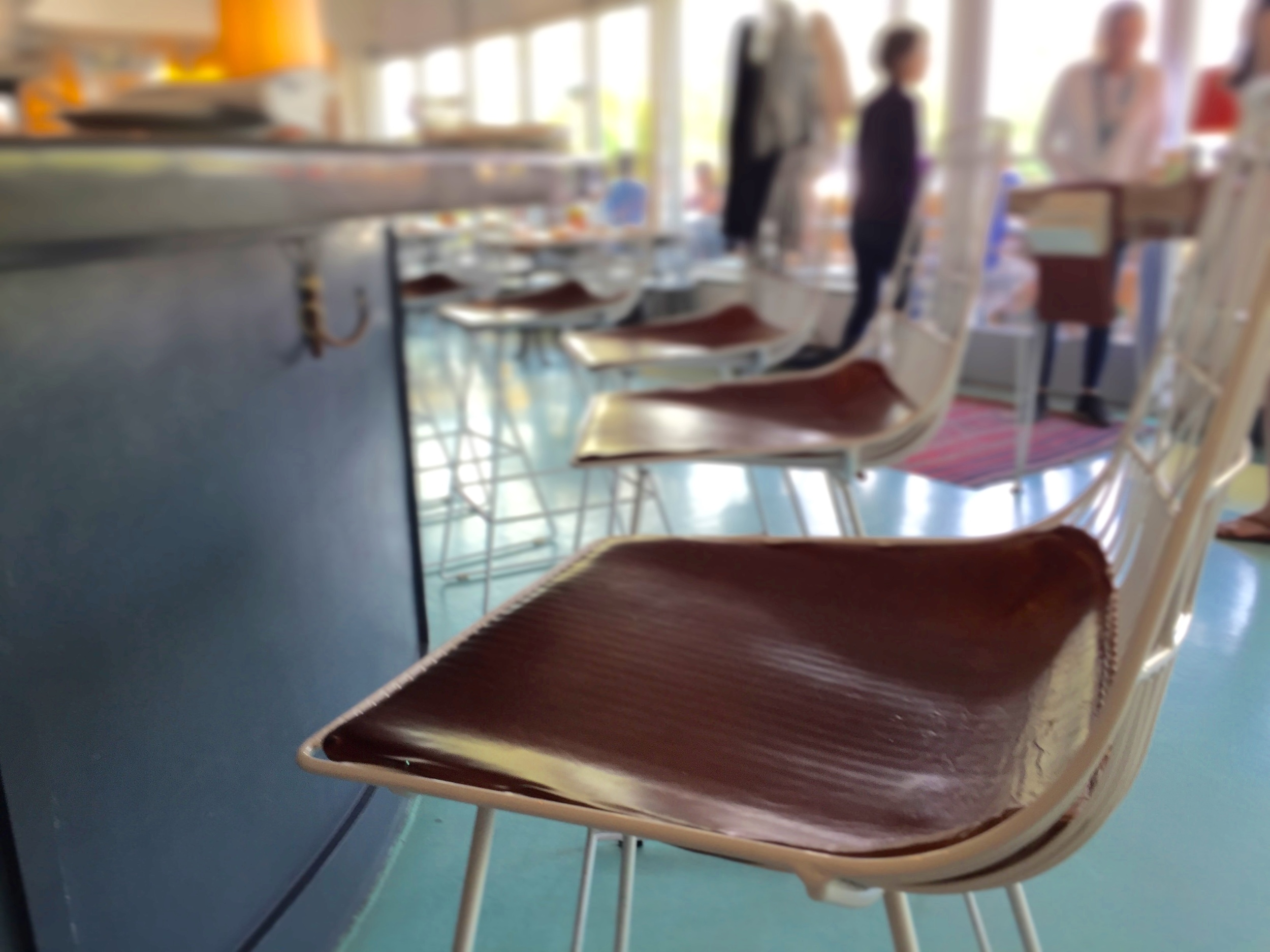 SEAT PADS FOR LAUNDERETTE DINER, AUSTIN
