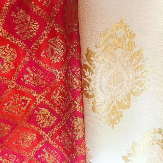 Color inspiration from Goa. #textiles #gotogoa @dwarkagoa