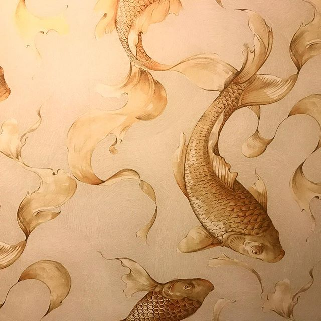 Coyness is nice (and coyness can stop you)... lovely wallpaper @thecornersuite #wallpapergoals