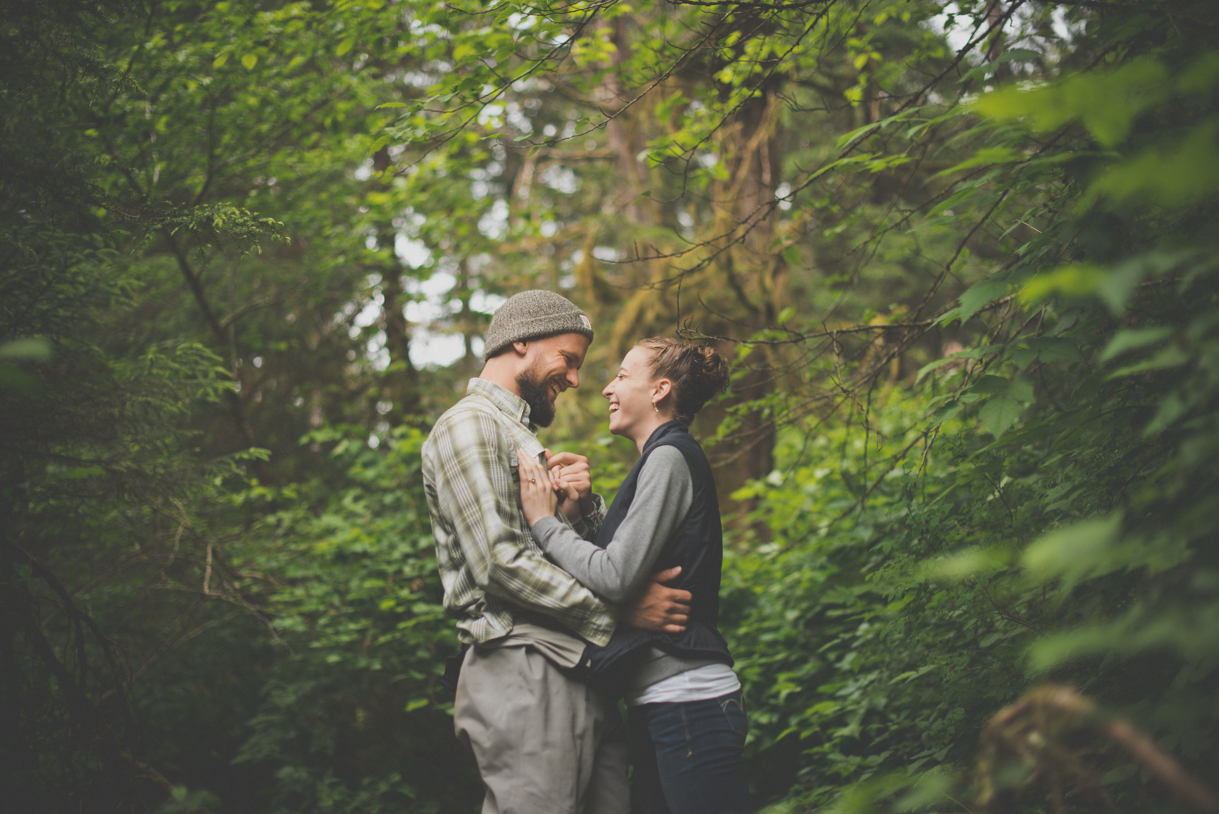 Engagement pictures for Danny and Juls